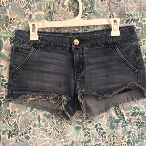 Size 7 denim shorts